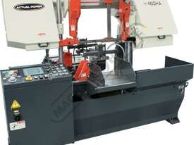 H-460HA-NC NC Double Column Metal Cutting Band Saw - Automatic Hitch Feed 480 x 460mm (W x H) Rectan - picture0' - Click to enlarge