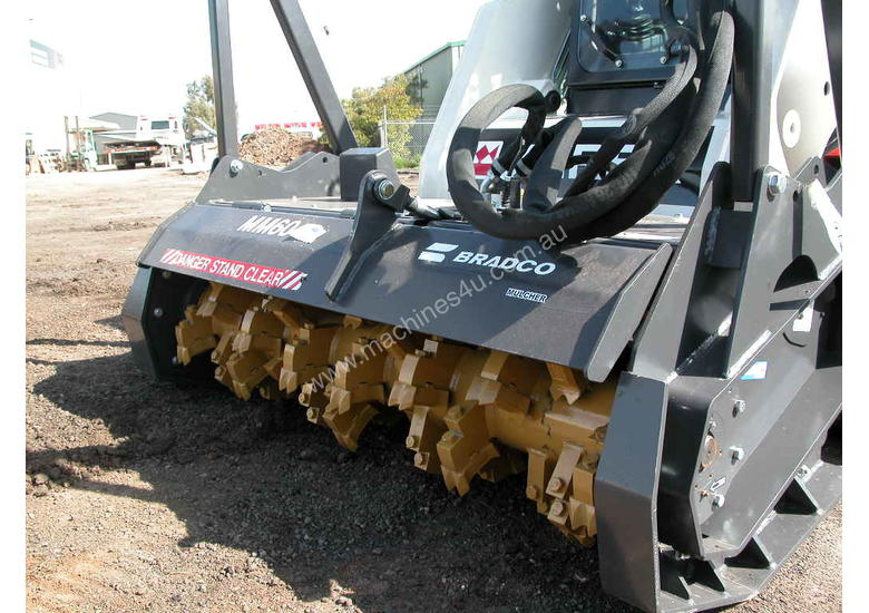 BRADCO MAGNUM MULCHER WITH CLAW TEETH
