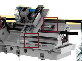 LEADWELL LTC-45 SLANT BED CNC LATHE - picture1' - Click to enlarge