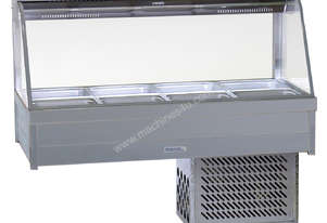 Roband CRX24RD Curved Glass Refrigerated Display