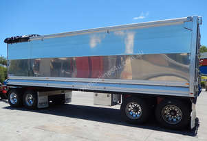2007 TEFCO 4 AXLE CHASSIS TIP DOG TRAILER