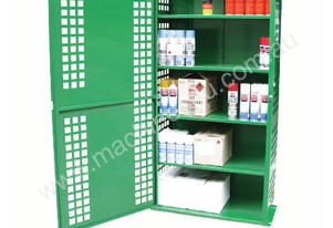 216 Can Aerosol Storage with 5 Shelves