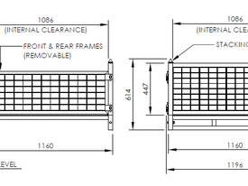 Half Size Stillage Cage - picture3' - Click to enlarge