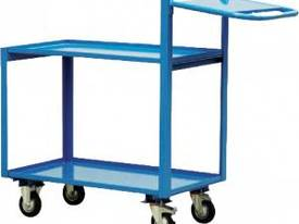 2 Tier Order Picking Trolley 1000mm x 700mm - picture0' - Click to enlarge