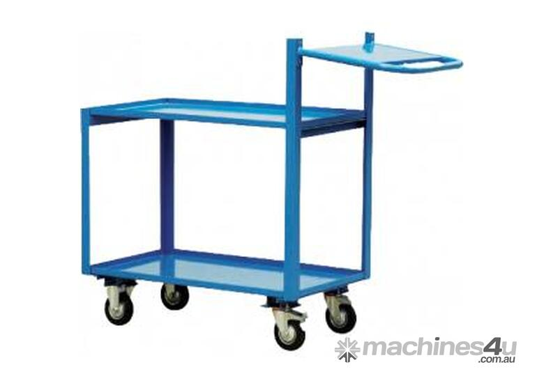 2 Tier Order Picking Trolley 1000mm x 700mm