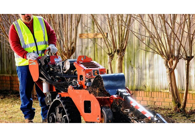 Ditch Witch 24hp Contractor Grade Walk Behind Trencher