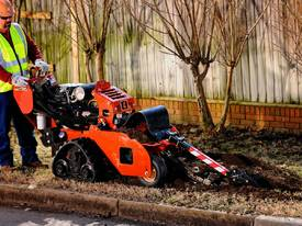 Ditch Witch 24hp Contractor Grade Walk Behind Trencher - picture2' - Click to enlarge