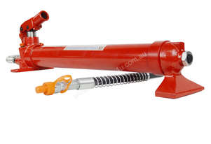 19077 - 20 TON HYDRAULIC HAND PUMP & HOSE ASSEMBLY WITH HANDLE