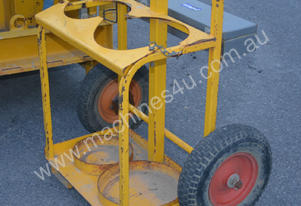 Heavy Duty Oxy Gas cutting bottle trolley truck cr