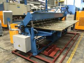 2 Axis Angle & Backgauge 3200mm x 4mm Panbrake - picture2' - Click to enlarge