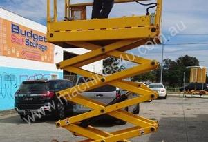 Scissor Lift Haulotte Elevated Platform Optimum 8.1