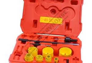KDP290 Metric HSS Hole Saw Set Ø19 ~ Ø64mm HSS Bi-Metal Hole Saws