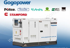10kVA 1-Phase SDT10X5S-AU Potise Powered Generator