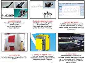 Very fast Fiber laser from Dener - picture5' - Click to enlarge