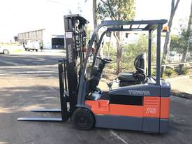 Toyota Electric Forklift 7FBE18 1.8Ton 5000mm Lift - picture0' - Click to enlarge