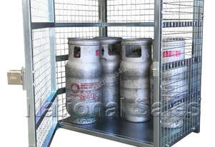 9kg LPG Gas Storage Cage (12 Bottles)