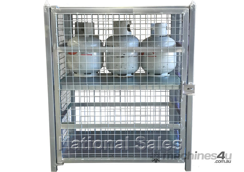 New Dump Trucks >> New 2017 national sales 9kg LPG Gas Storage Cage 12 Bottles Racking/Shelving/Storage in SYDNEY ...