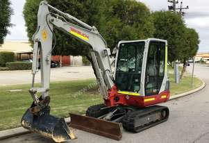 TAKEUCHI TB235 3.5T LOW HOURS COMPACT MINI EXCAVATOR – 761