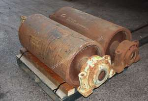Set of 2 Roller conveyor rollers mining