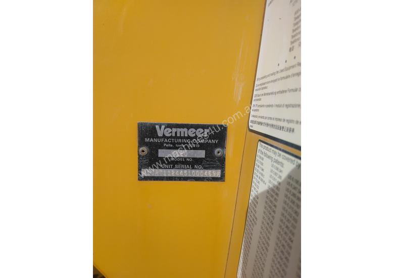 Vermeer V120 + SO1450 Trencher Attachment