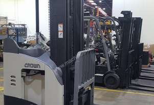 Crown Second Hand Single Reach Truck