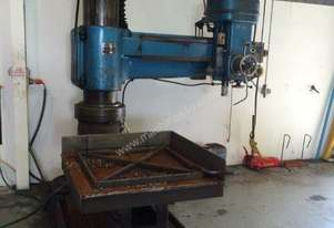 Or  Radial Drilling Machine