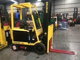 Used Hyster 4 Wheel Battery Electric Forklift - picture0' - Click to enlarge