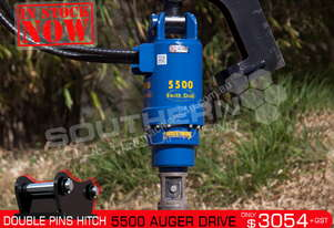 5500 MAX Auger Drive Unit. Suit 4.5 to 7 Ton Excavators ATTAGT