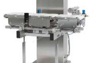 Checkweigher with Pusher Reject (Precise, compact and inexpensive)