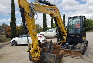 2016 YANMAR VIO80-1 WITH 1040 HOURS