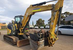 2016 YANMAR VIO80-1 WITH 1407 HOURS
