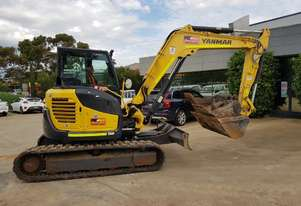 2017 YANMAR VIO80-1 WITH 1762 HOURS