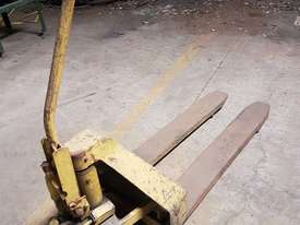 Pallet hand truck - picture1' - Click to enlarge