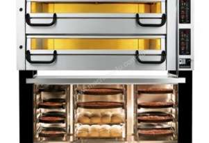 ABP PizzaMaster Twin Pizza Deck Oven - 732ED
