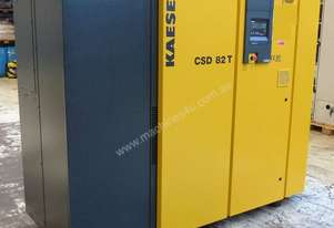2009 Kaeser CSD82T Electric Compressor with built in Dryer, 290cfm 11bar 8745 Hours on Clock