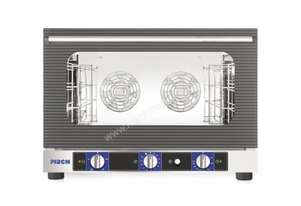 PIRON PF7504G 4 x 600x400 1/1 Gastronorm Convection Humidity Oven with Salamander Grill