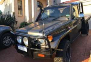 Toyota land cruiser Ready for hunting n F.W.D