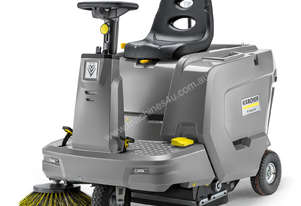 Karcher KM 85/50 R BP ride-on sweeper