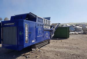 EDGE SLAYER XL slow speed shredder for wood waste, domestic household waste and C&D