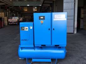 FOCUS INDUSTRIAL 50 CFM /15hp Rotary Screw Compressor w/ Integrated Air Dryer & Receiver Tank. - picture0' - Click to enlarge