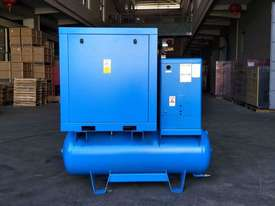 FOCUS INDUSTRIAL 50 CFM /15hp Rotary Screw Compressor w/ Integrated Air Dryer & Receiver Tank. - picture2' - Click to enlarge