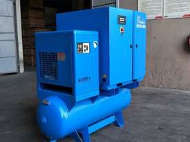 FOCUS INDUSTRIAL 50 CFM /15hp Rotary Screw Compressor w/ Integrated Air Dryer & Receiver Tank. - picture1' - Click to enlarge