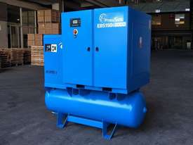 Pneutech 50 CFM /15hp Rotary Screw Compressor w/ Integrated Air Dryer & Receiver Tank. - picture2' - Click to enlarge