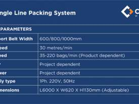 Flow Wrapper CPM-Y (Single Line Packing System) - picture1' - Click to enlarge