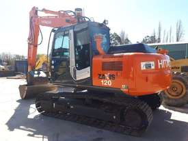 Hitachi ZX120 Tracked-Excav Excavator - picture1' - Click to enlarge