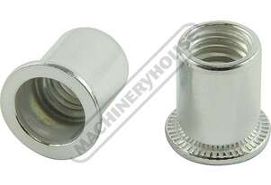 N020 Aluminium Nut Rivets - 50 Pack  M10 x 1.5mm