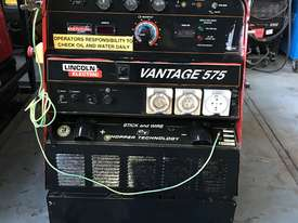 Lincoln Vantage 575 Diesel Welder Generator 500 Amps Welding 240 & 415 Power - picture2' - Click to enlarge