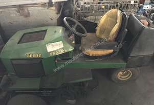 John Deere ride on lawn mower large capacity diesel