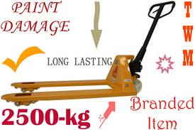 Pallet Truck 2.5-ton TWM BRAND - New with warranty