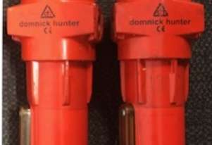 Domnick Hunter Pre Filters with brand new filter elements